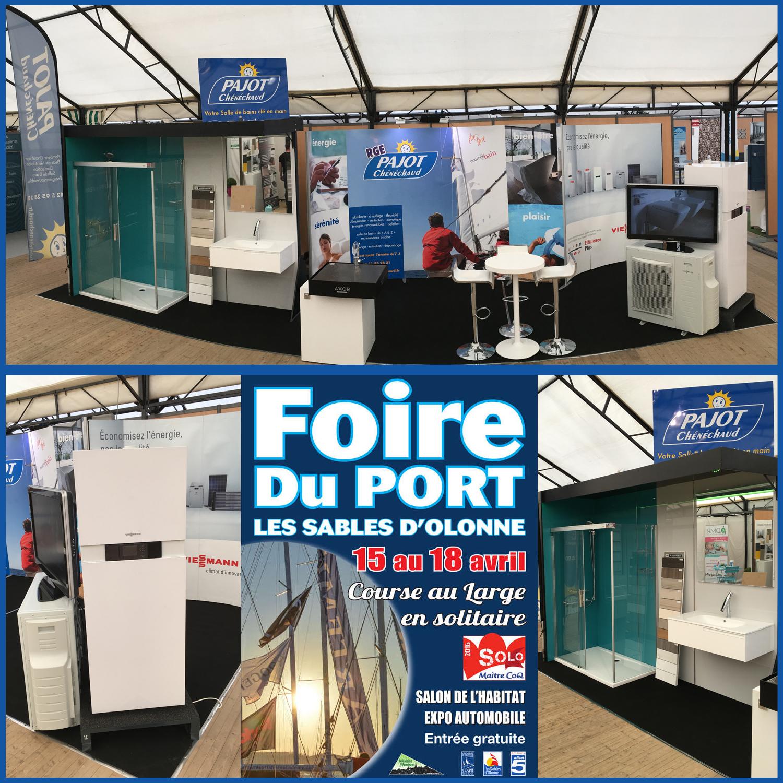 Stand Foire du Port 2016