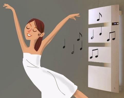 mettez de la musique dans votre salle de bains pajot ch n chaud. Black Bedroom Furniture Sets. Home Design Ideas