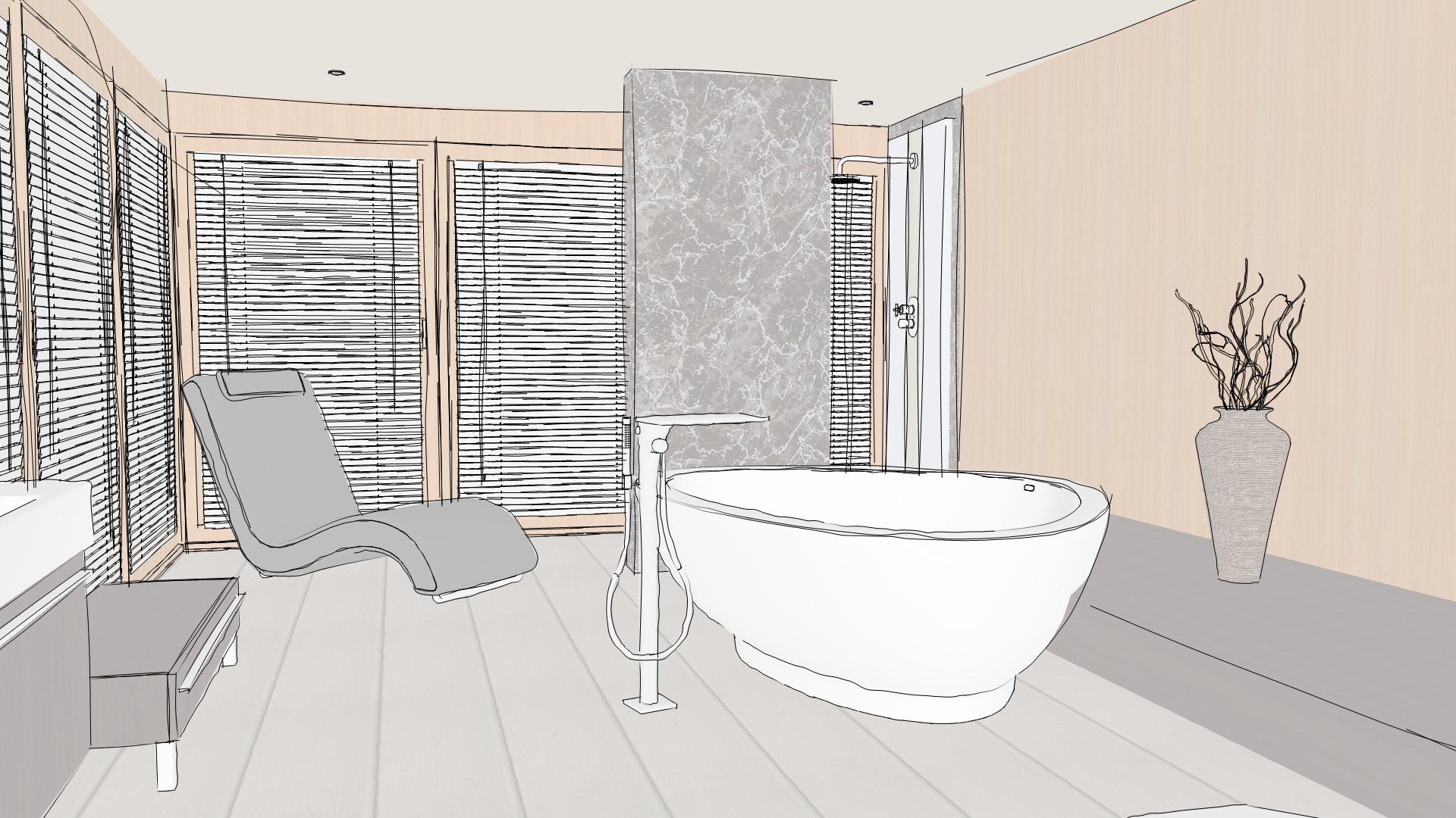 Un outil pour concevoir soi m me sa future salle de bains 3d - Concevoir salle de bain ...
