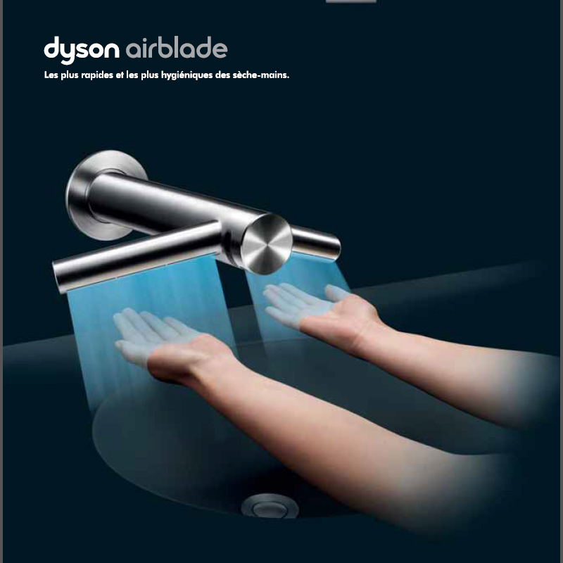 venez essayer le nouveau dyson airblade tap. Black Bedroom Furniture Sets. Home Design Ideas