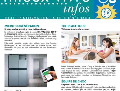 Découvrez le nouveau MIEUX VIVRE INFOS 2018 de Pajot Chénéchaud