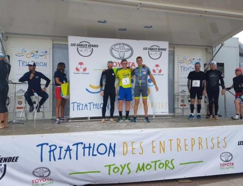 Pajot Chénéchaud présente à l'édition 2019 du Triathlon TOYS Motors des entreprises aux Sables d'Olonne